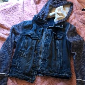 Small Free People distressed jacket